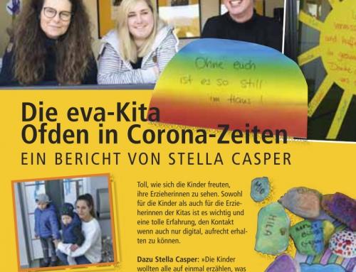 Pressebericht: Die eva-Kita Ofden in Corona-Zeiten